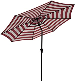 Best red and white striped umbrella Reviews
