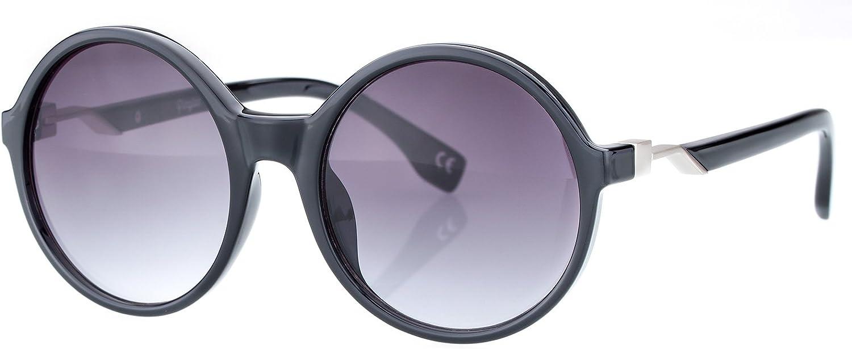 Classic Retro Fashion Sunglasses For Women, Oversized Round Lens, FDA Standard UV400