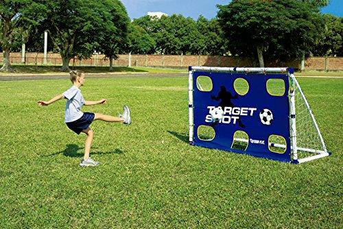 Outdoor Play | Fußball Training Center für Kinder - Fußballtor, Rebounder, Torwand in Top Qualität aus Kunststoff - Stabil Wetterfest