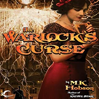 The Warlock's Curse audiobook cover art