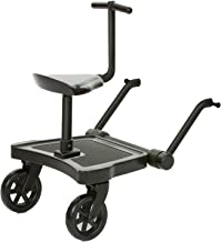 ABC Design Universal Kiddy Board - Kiddie Ride On 2 inkl. Sitz | beslastbar bis 20 kg | Universell für fast alle gängigen Kinderwagen & Buggy geeignet