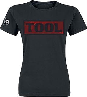 Tool Shaded Box Frauen T-Shirt schwarz Band-Merch, Bands