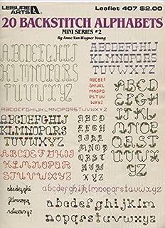 Best cross stitch letters backstitch Reviews