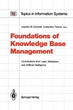 Foundations of Knowledge Base Management: Contributions from Logic, Databases, and Artificial Intelligence Applications