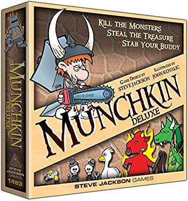 Steve Jackson Games Munchkin Deluxe from Publisher Services Inc (PSI)