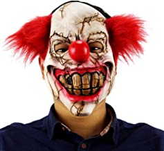 FEOYA Adult Halloween Horror Scary Latex Mask Devil Clown Joker Monster Mask Masquerade Party Prop