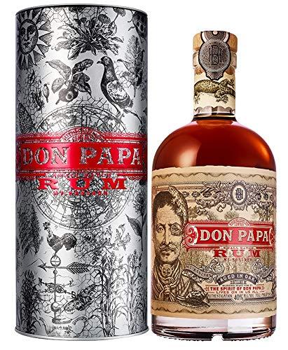 Rum DON PAPA 7 Jahre 40% vol 1x0,70L in Geschenkbox Metall