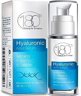 Serum de ácido hialurónico Forte & Vitamina Cde 180 Cosmetics.No necesita jeringuillas...