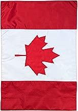 Briarwood Lane Canada Embroidered Garden Flag Nationality 12.5