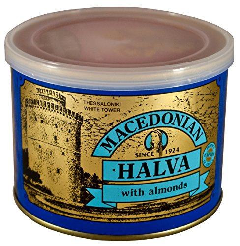 Griego Macedonio Halva con Almendras 500 gr