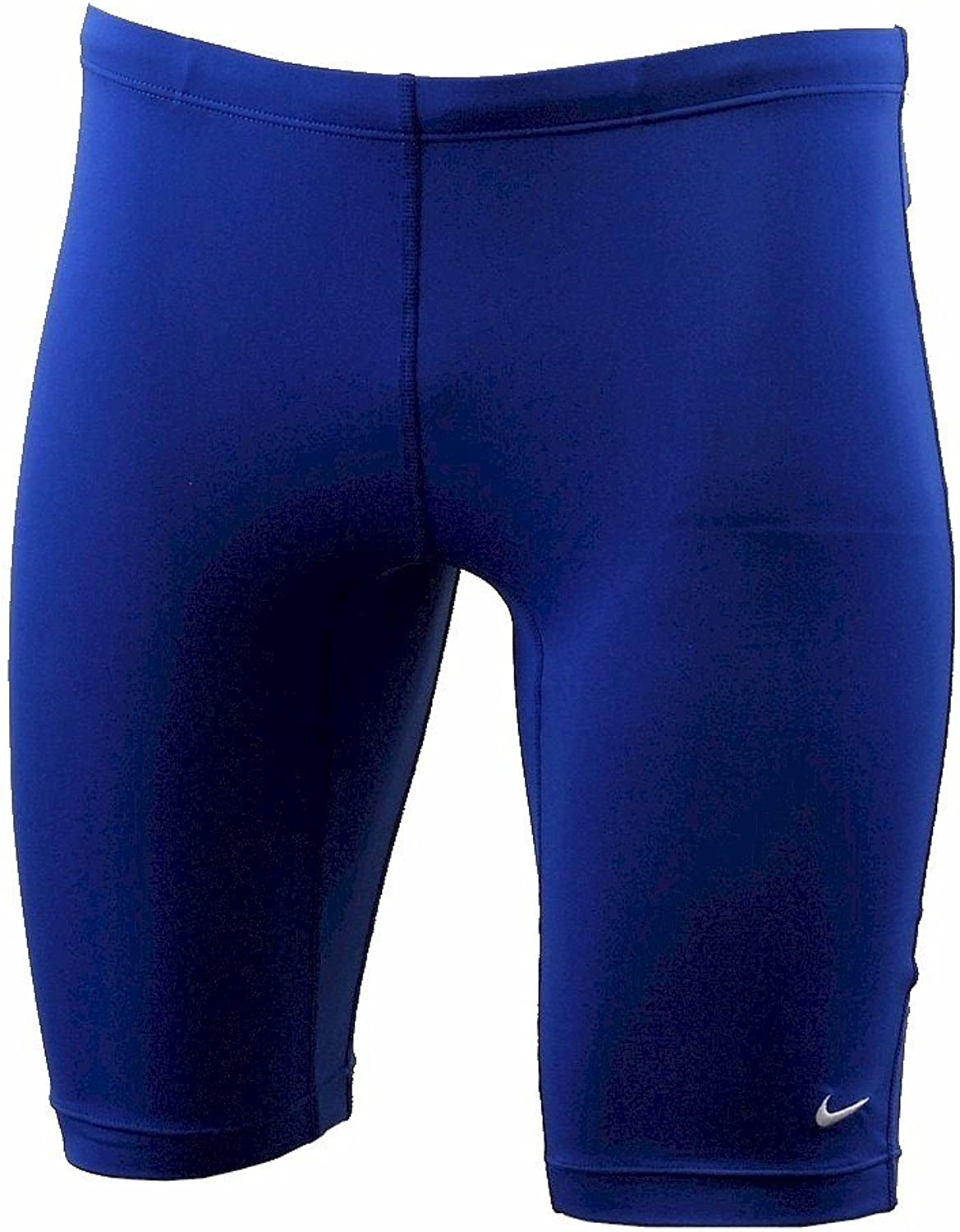 Nike Men's Poly Core Solids Jammer Swimsuit Game Royal Performance Swimwear