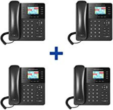 $320 » Grandstream GXP2135 4-Pack IP Phone Enterprise High Performance 8lines with 4 SIP Accounts, HD Audio