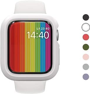 RhinoShield Apple Watch Series 1/2/3 [42mm用] 保護ケース   衝撃吸収 傷防止 スリムデザイン BPAフリー [1.2Mの耐落下衝撃] - ホワイト