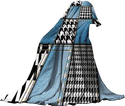 a1c9064453c4 Amazon.com  QINYAN-Home Decorative Throw Blanket Painted (90