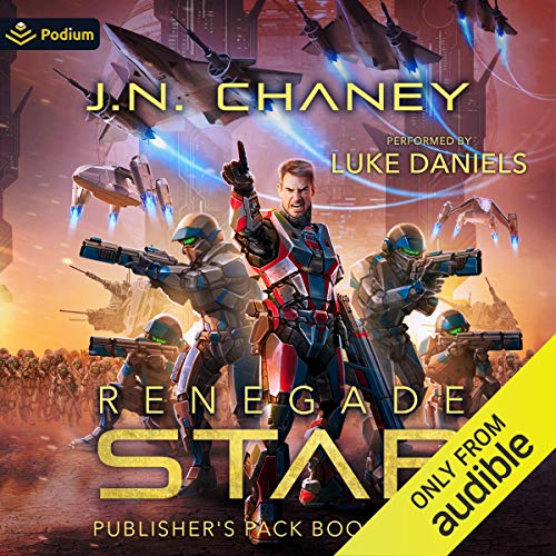 Renegade Star: Publisher's Pack 8 Audiobook By JN Chaney cover art