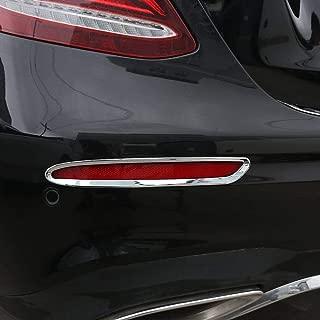 Ajuste del marco de la l/ámpara de cola de la fila trasera del cromo del ABS para la clase W213 2016-2018 de E