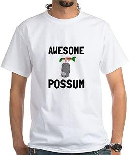 Awesome Possum T-Shirt 100% Cotton T-Shirt, White