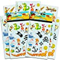 Jake and the Neverland Pirates Stickers ~ 8 Sheets, Over 120 Stickers