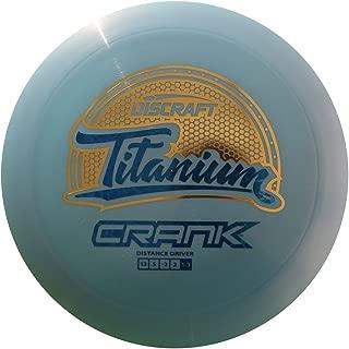 Discraft Titanium Crank Distance Driver Golf Disc [Colors May Vary]