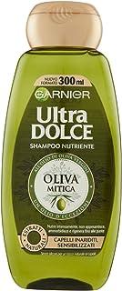 Garnier Shampoo Nutriente Oliva Mitica per Capelli Inariditi, 300ml