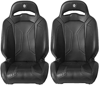 Pro Armor Suspension Black P141S188BL Seat UTV LE Polaris RZR XP 1000 Turbo 4 S, 2 Pack
