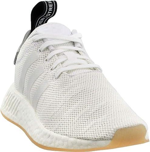 Adidas Wohommes Originals NMD_R2 chaussures Crystal Crystal blanc, blanc, Core noir 6 B(M) US