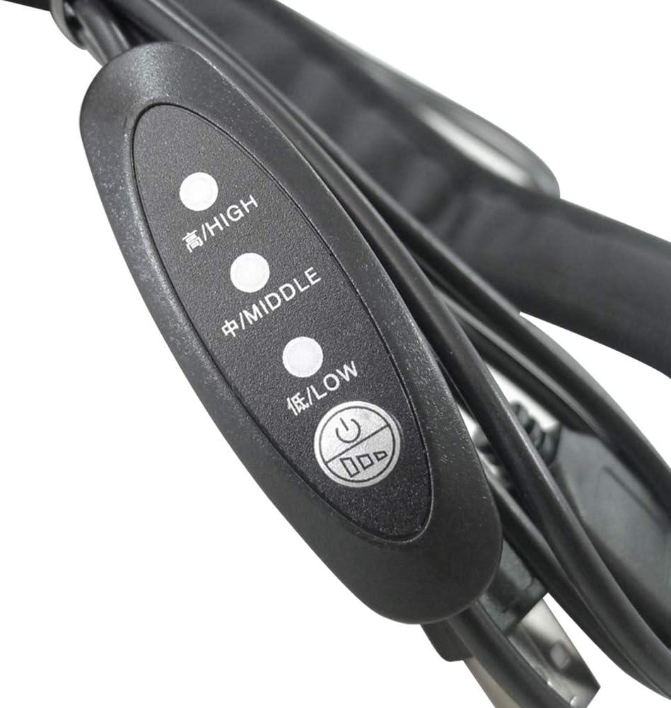Calentador de Lente para Lente de c/ámara Universal Calentador de Lente telescopios Taza de caf/é Botella Calentador de desempa/ñado de Lente POHOVE Tira de Calentador de roc/ío USB