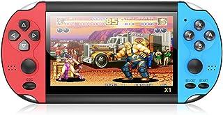 100pcs X1 4.3-Polegadas Handheld Game Console Retro Portátil Game Console 8G Built-In 10 000 Jogos Clássico Nostálgico Dua...