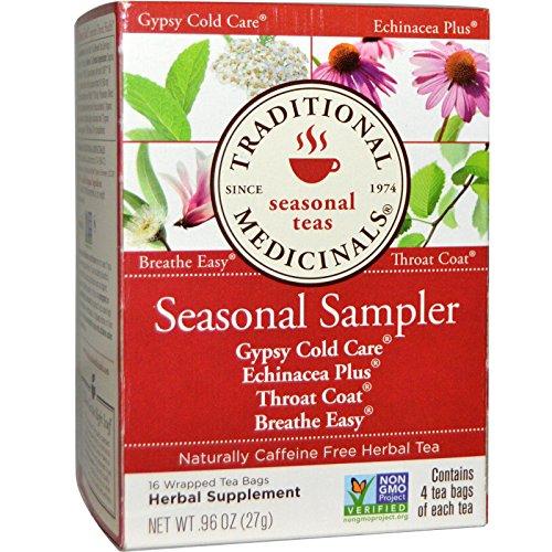 Traditional Medicinals Tea Cold Season Sampl