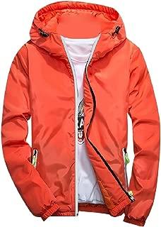 Men Windproof Full-Zip Plus Size Outdoor Sweater Hoodie Top