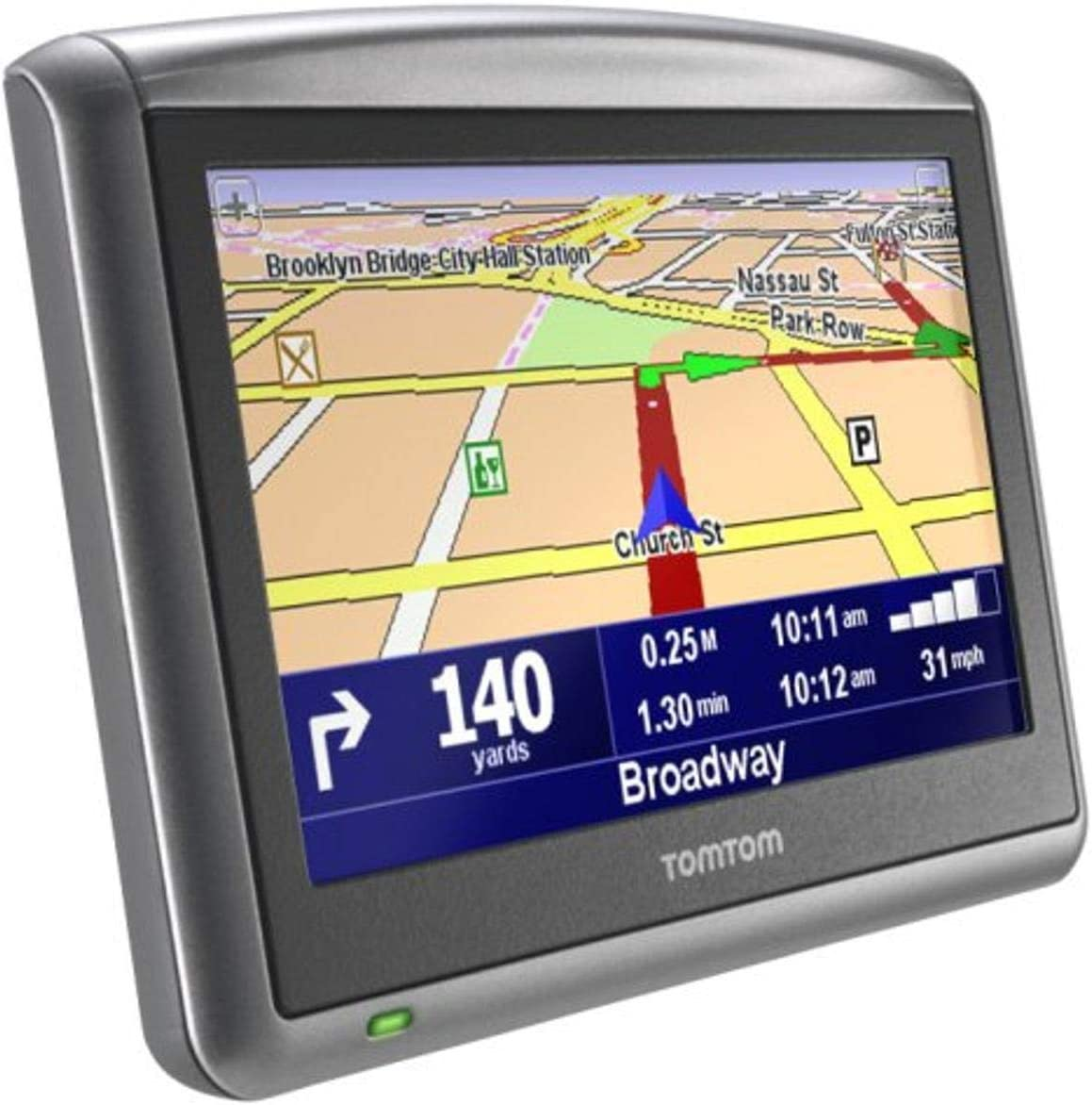 TomTom ONE XL 4.3-Inch Bluetooth Portable GPS Navigator (Discontinued by Manufacturer)