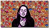 Pintura De La Lona 60x80cm Sin Marco Póster psicodélico Trippy de Lana Del Rey, cuadros decorativos para pared, sala de estar