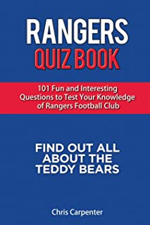 Rangers Quiz Book