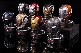 King Arts 1/5 Iron Man DHS-S6 LED MK XL IV XLI XXXVI Helmet Box Set of 8