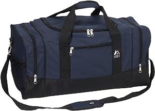 Everest - Bolsa deportiva para equipaje, Navy/Negro, Una talla