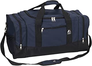 Everest Luggage Sporty Gear Bag, Navy/Black, Navy/Black, One Size