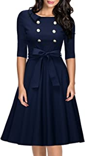 Best classy navy blue dress Reviews