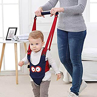3-in-1 Baby Walker, Adjustable Safety Stand and Walk Learning Assistant for Baby, Multi-Function Baby Walking Harness, Breathable Material, Walker for 5-24 Month Baby Boy and Girl