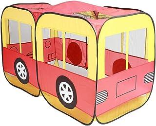 Tiendas de campaña Applyvt Niños Pop Up Play Carpa de Juguete Casa Plegable del autobús de la casa del Juego del Coche de policía del camión de Bomberos del paño