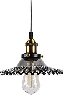 Huahan Haituo Retro lotos parasol wisząca lampa do restauracji ganku oświetlenie domu restauracja sypialnia salon, retro s...