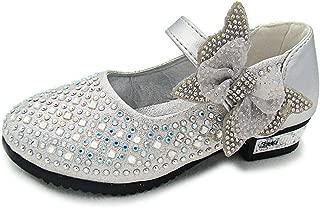 YING LAN Little Big Girl Glitter PU Leather Mary Jane Shoes