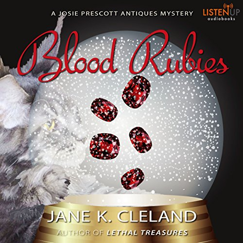 Blood Rubies audiobook cover art