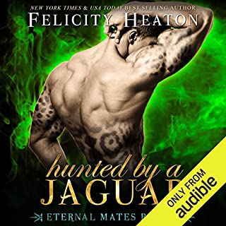 Hunted by a Jaguar     Eternal Mates Paranormal Romance Series, Book 4              By:                                                                                                                                 Felicity Heaton                               Narrated by:                                                                                                                                 Charlotte Wright                      Length: 10 hrs and 52 mins     21 ratings     Overall 4.6