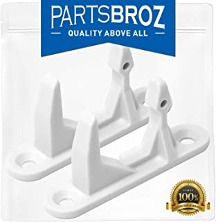 131763310 Washer Door Striker for Frigidaire & Kenmore Washing Machines by PartsBroz - Replaces Part Numbers AP3580441, 134456600, 1032664, 131763300, AH890617, EA890617, PS890617 (Pack of 2)