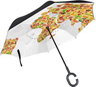 Paraguas verduras