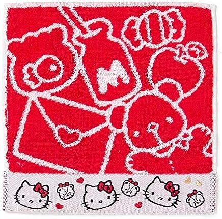 Hello Kitty /Agarradores//manopla 30/x 30/cm 4/unidades g/ästet/üch//Mano para toallitas//facial para toallitas//seift/üch//09103/ 100/% algod/ón,