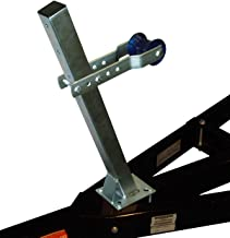 VE-VE Inc. Sm.- Lg. Winch Post Assembly/Winch Post ONLY. (Galvanized Finish Available!)