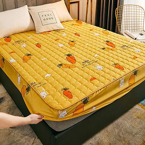 XGguo Sábana Ajustable súper Suave, cálida y acogedora Una Sola Pieza de sábana Impermeable y a Prueba de Polvo-1_180cmx220cm