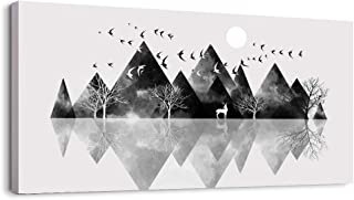 Canvas Wall Art for Living Room Artwork Canvas Prints Bedroom Wall Decor Black and White..