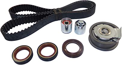 DNJ TBK802 Timing Belt Kit for 2005-2015 / Audi, Volkswagen / A3, A4, A4 Quattro, Eos, GTI, Jetta, Passat, TT, TT Quattro / 2.0L / DOHC / L4 / 16V / 121cid / BPG, BPY, BWT, CDMA